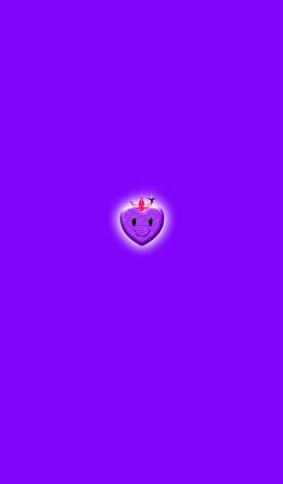 Purple Simple Heart