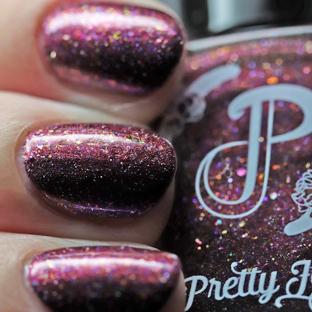 Pretty Jelly Nail Polish Eyes on the Prize