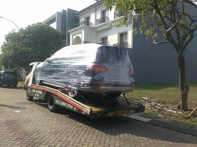 MR Derek Surabaya Kirim Mobil ke Jakarta