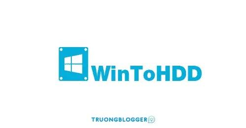 WinToHDD Professional 5.1 - Hỗ trợ cài đặt Windows trực tiếp nhanh chóng