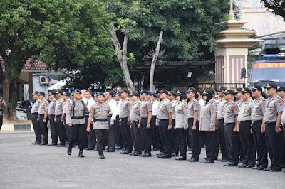 Polda Jambi Pimpin Pelaksanaan Apel Pasukan Aman Nusa II di Mapolda Jambi