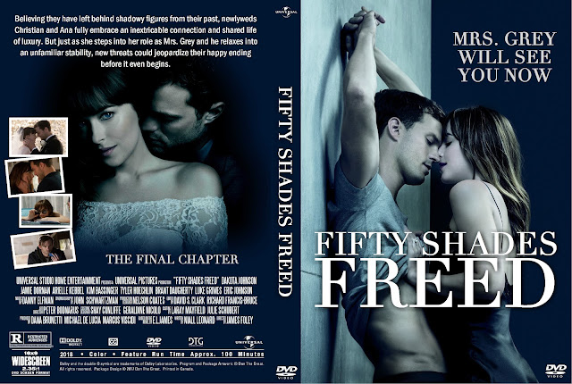 Fifty Shades Freed DVD Cover