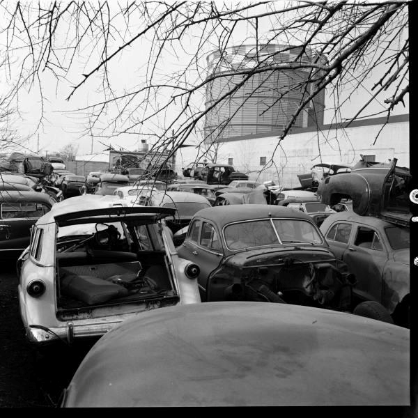 Vintage auto wrecking yards