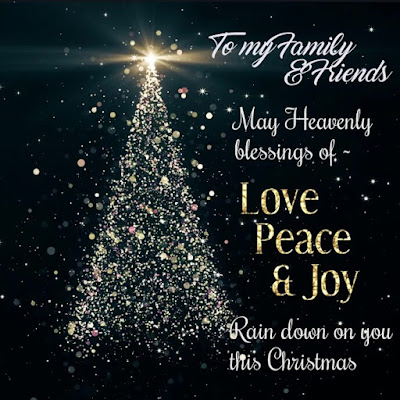 Merry Christmas Wishes with Tree Images