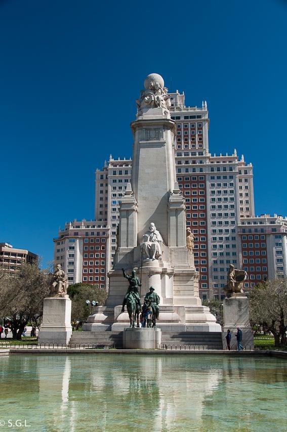 Plaza de España. Ruta lowcost por Madrid
