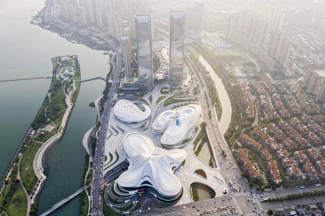 Toàn cảnh Trung tâm văn hóa nghệ thuật Meixihu