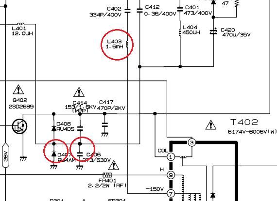 Ремонт телевизора LG 21FS6RG, шасси MC-059C | Интересная ...