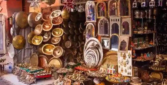 سوق شعبي في ابها