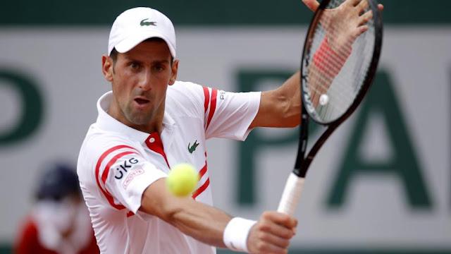 Novak Djokovic ainda não perdeu set em Roland Garros