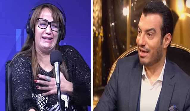 حنان الشقران مع إيهاب توفيق