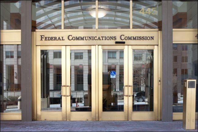 مقر لجنة الاتصالات الفيدرالية (FCC) في واشنطن العاصمة.