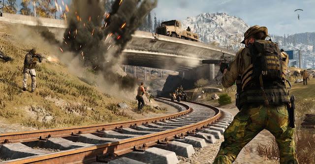 سلاح جديد ينضم الى اللعبة Call of Duty 2021