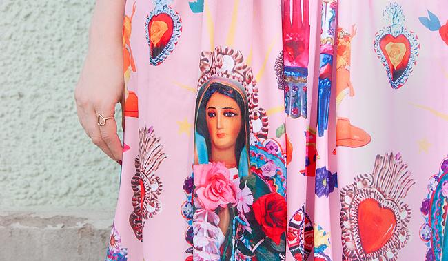 Tara Starlet, pink dress, Madonna dress