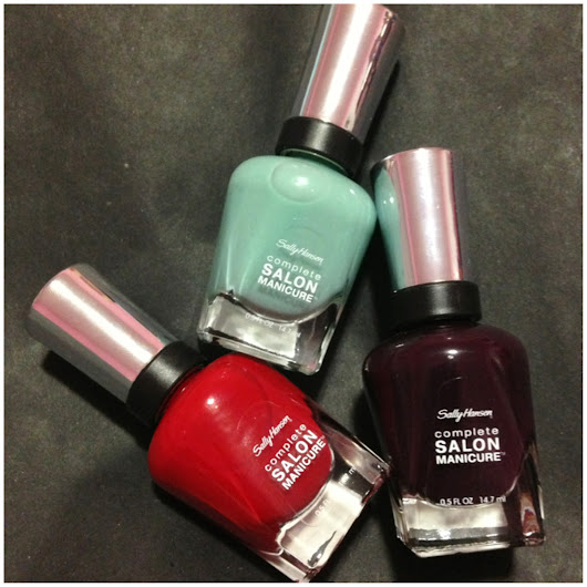 Sally Hansen Complete Salon Manicure is a Knock Out