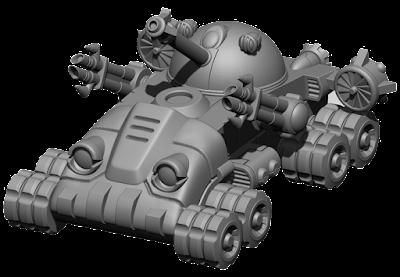 Poseidon class tank
