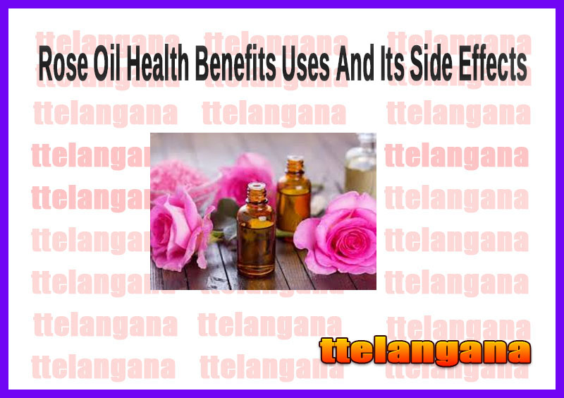 Rose Oil Health Benefits Uses And Its Side Effects