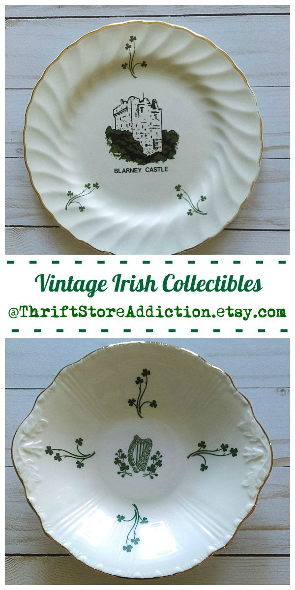 vintage Irish collectibles