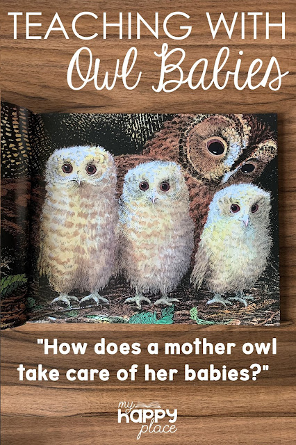 Owl Babies Comprehension Questions for Critical Thinking