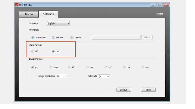 Cara Mengubah PDF ke Word Dengan Menggunakan Software UniPDF