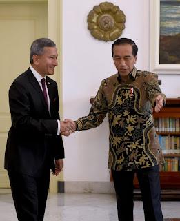 Terima Kunjungan Menlu Singapura, Presiden Bahas Persiapan