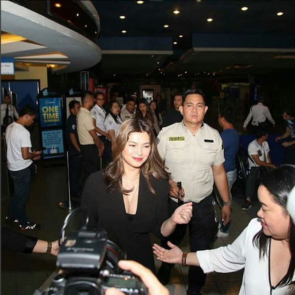 Angel Locsin attend premiere night of The Unmarried Wife