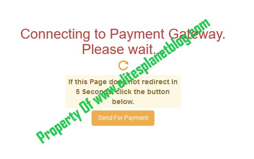 JAMB Change of Course/Institution Correction Remitta Payment Loading