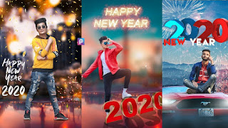 Happy New Year 2020 background download hd