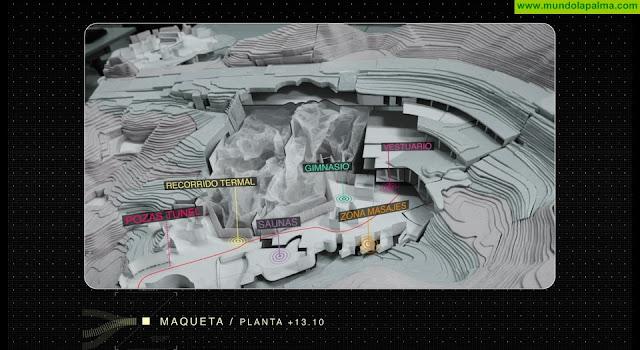 El Cabildo da a conocer el proyecto del futuro balneario de Fuente Santa en un vídeo promocional