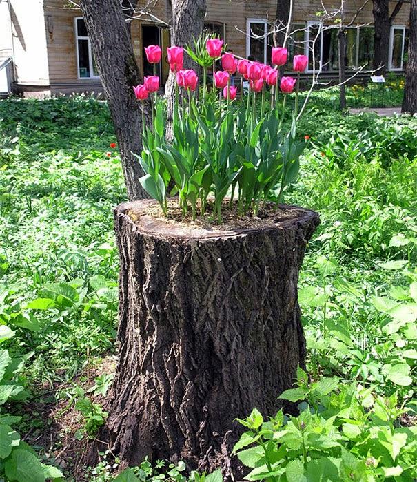 Jardineras Para Arboles Jardineras Para Arboles Click Para Ver - Troncos-de-arboles-decorativos