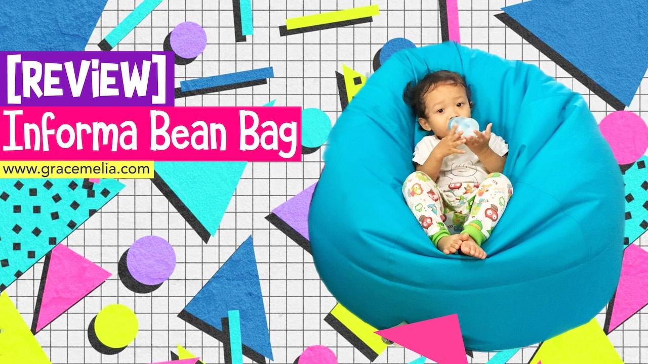 Review Bean Bag Informa Gracemelia Com Parenting Blogger Indonesia Harga bean bag informa