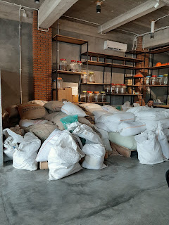 Biji kopi di office coffee