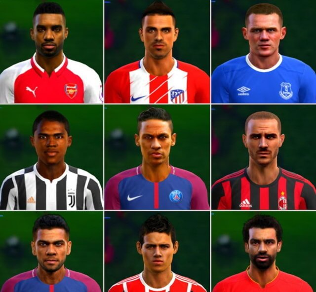 Option File Update Transfers 2017-18 PES 2013