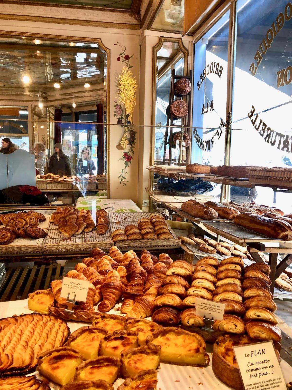 Du Pains des Idees bakery in Paris