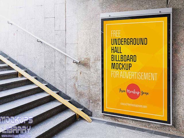 billboard mockup for advertisement