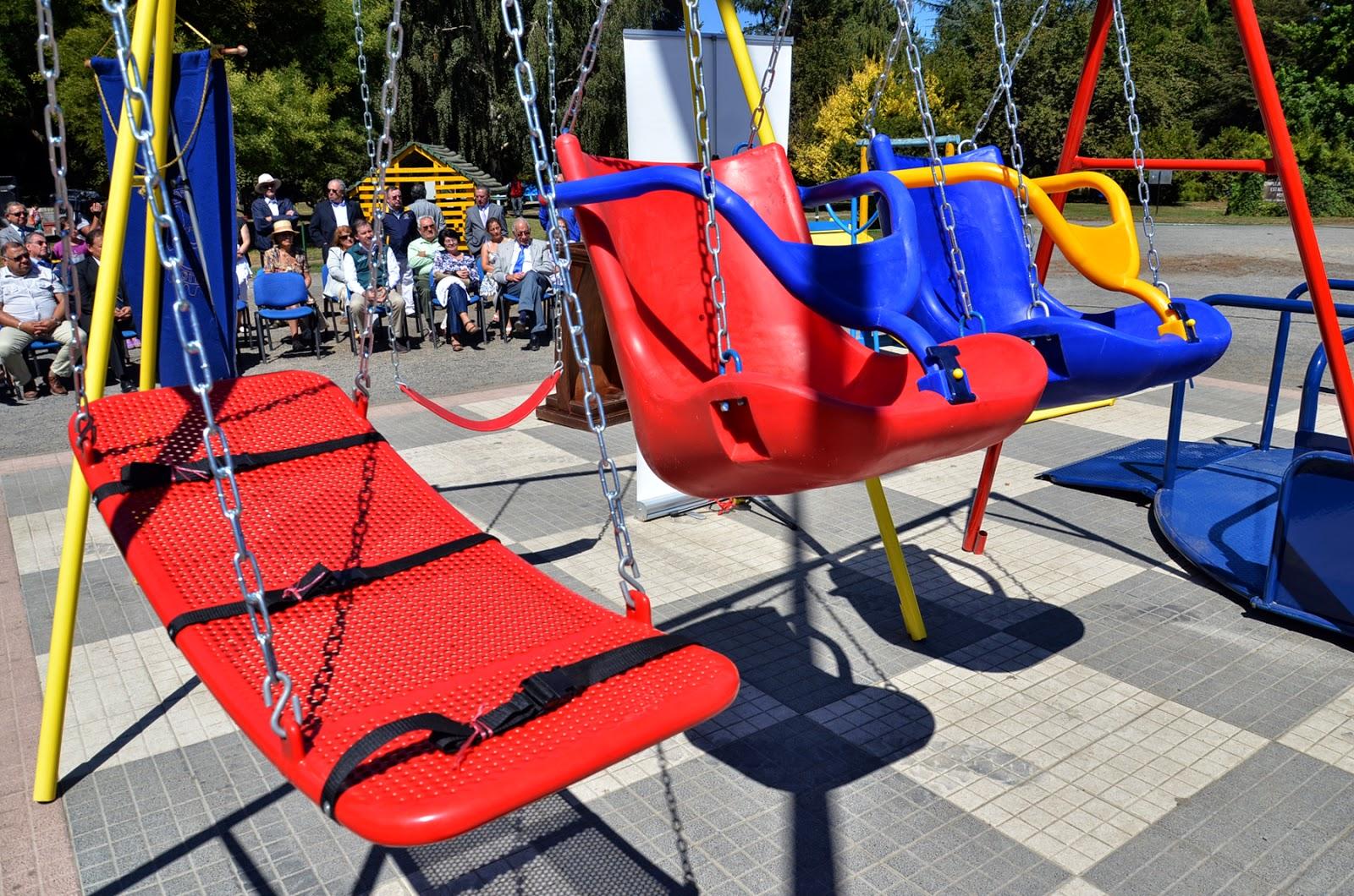 Rotary Club Temuco Norte Dono A Municipio Juegos Infantiles Para