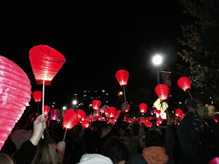 light the night, fundraising ideas, humanitarian of the year