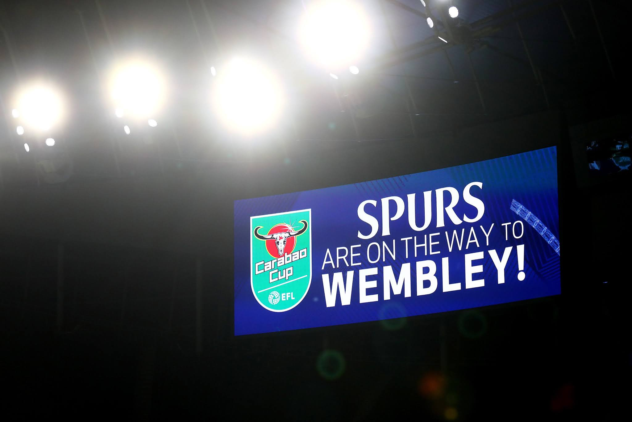 Tottenham Hotspur will face Manchester City in the Carabao Cup final at Wembley stadium on April 25th, 2021
