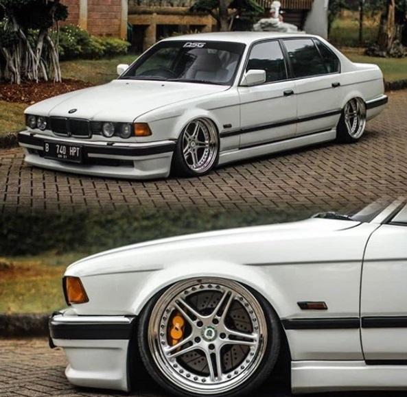 Modifikasi mobil ceper BMW