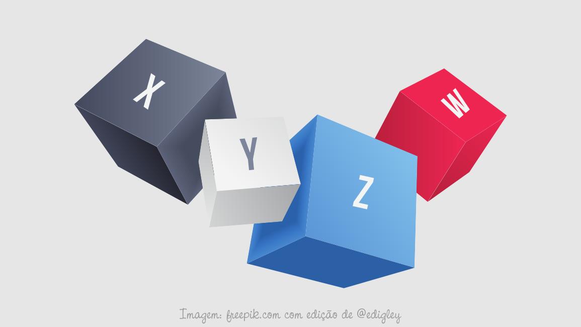 Como dividir um cubo em três cubos