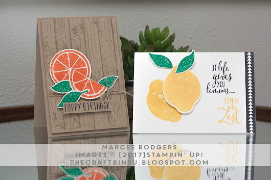 The Craft Bin : Lemon Zest Bundle *swoon*