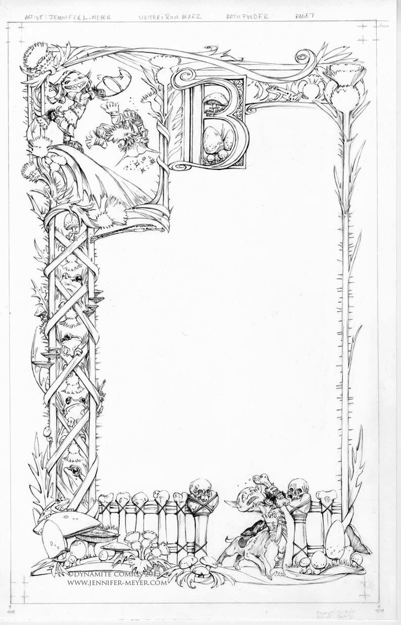 Illustrations and Comic art : Pathfinder Goblins Inks!