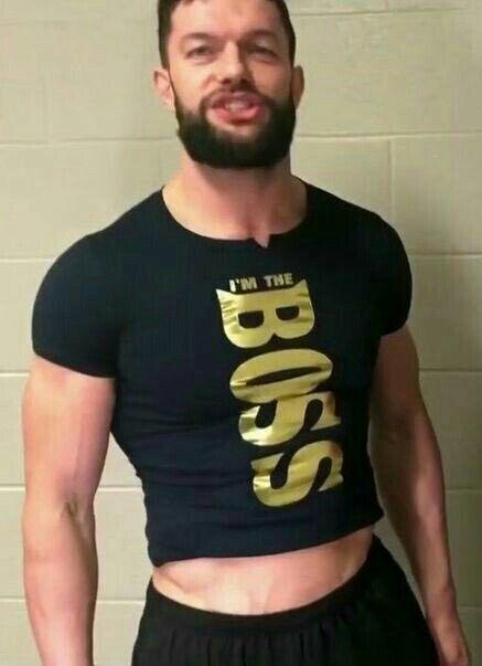 Finn Balor I'm The BOSS crop top shirt.  PYGear.com