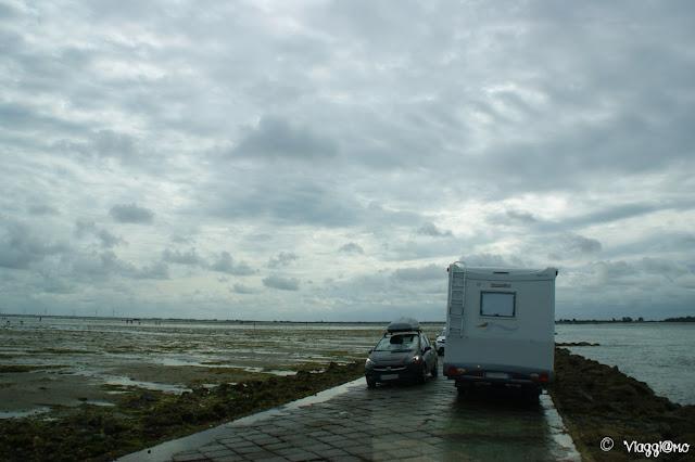 Visitare l'Ile de Noirmoutier in camper e il Passage du Gois