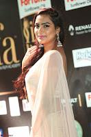 Prajna Actress in backless Cream Choli and transparent saree at IIFA Utsavam Awards 2017 0068.JPG