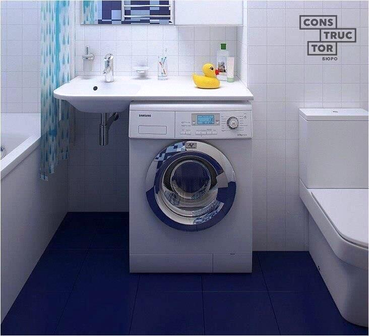 Washing Machine In Kitchen Design