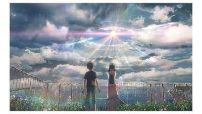 anime romantis cinta beda usia tenki no ko