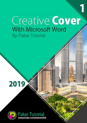 Contoh Cover Makalah dengan Microsoft Word
