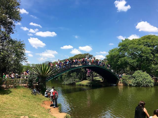 Ponte de Ferro do Parque Ibirapuera