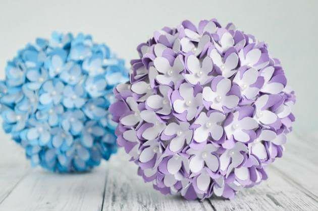Aprende c mo hacer bolas decorativas para colgar muy - Como hacer bolas para decorar ...