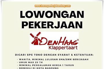 Lowongan Kerja SPG Den Haag Klappertaart Bandung